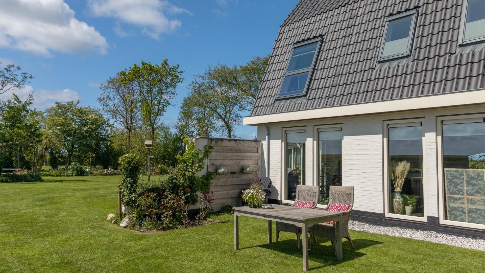 Tuin bed en breakfast Wad Uniek VVV Texel