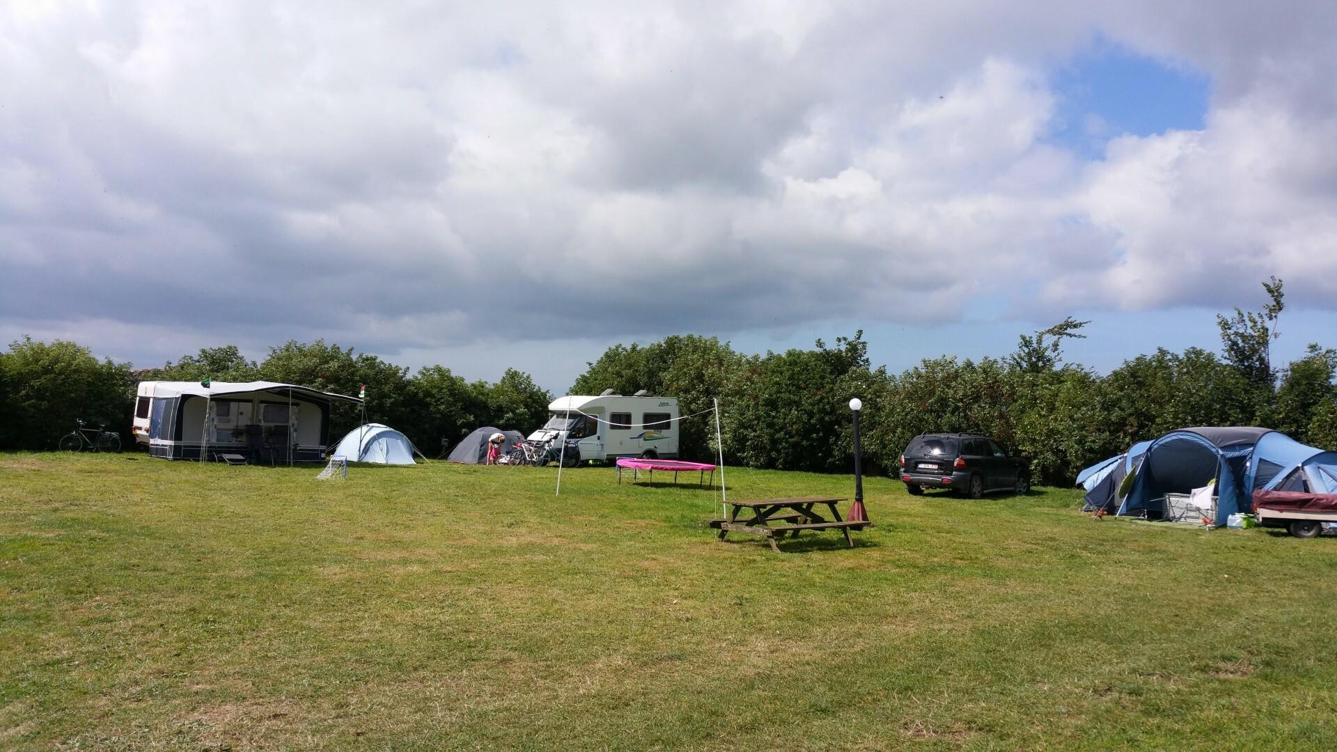 Kampeerplek camping Hoeve Margriet VVV Texeljpg