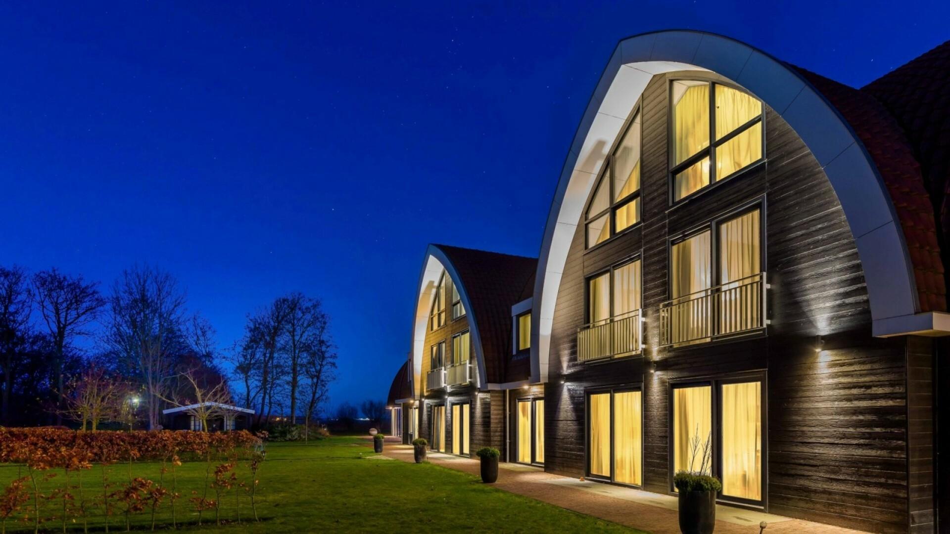 Boutique Hotel Texel vooraanzicht VVV Texel