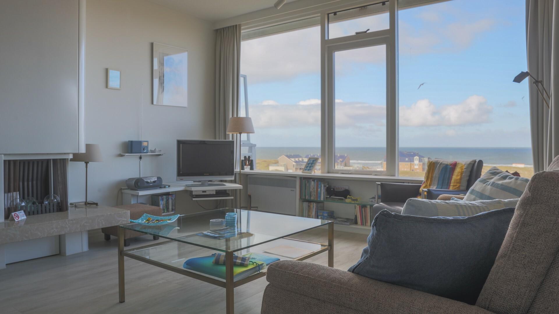Appartement Juliana 160 met zeezicht VVV Texel