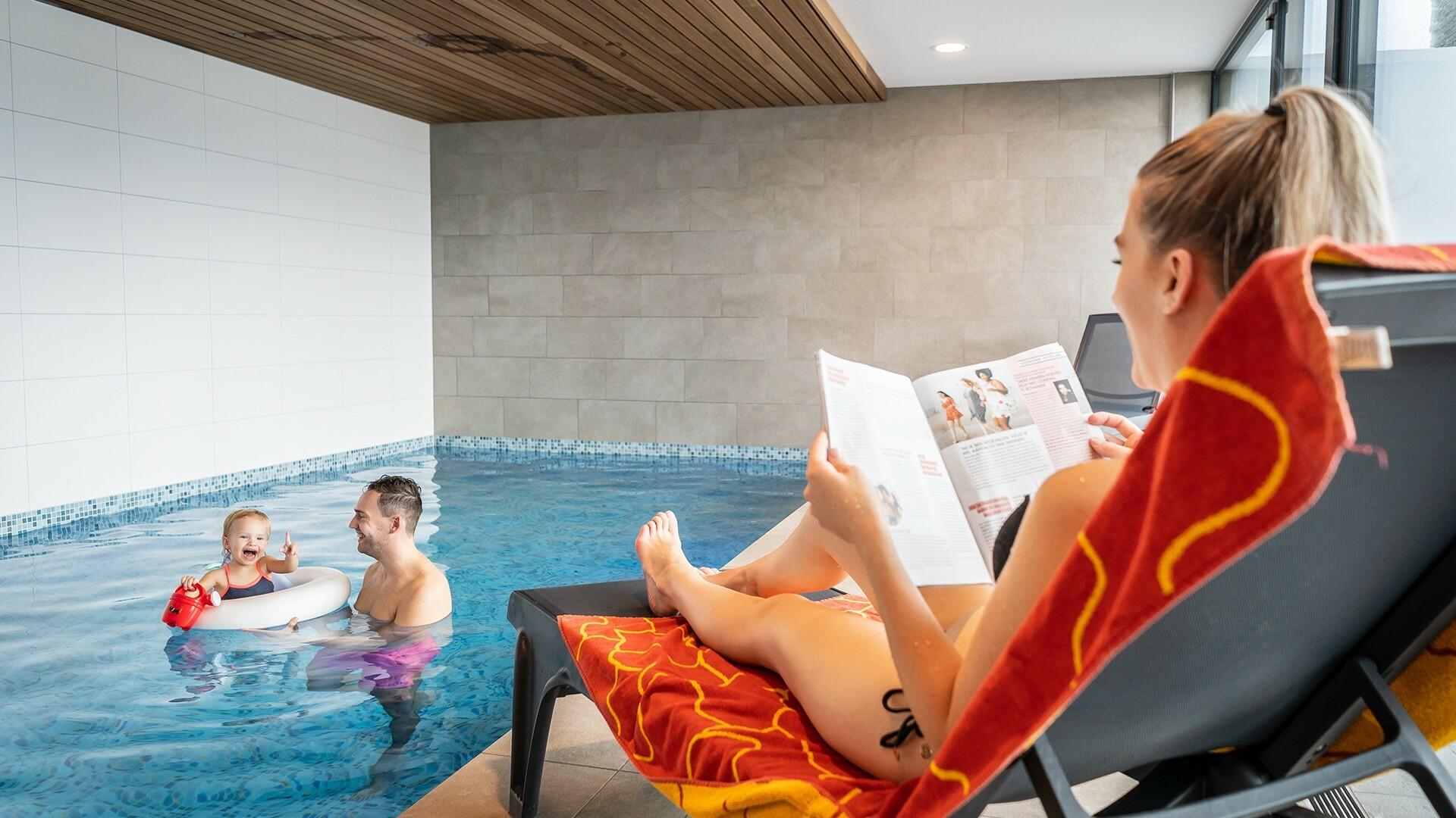 Met gezin vakantie vieren in vakantievilla met zwembad VVV Texel