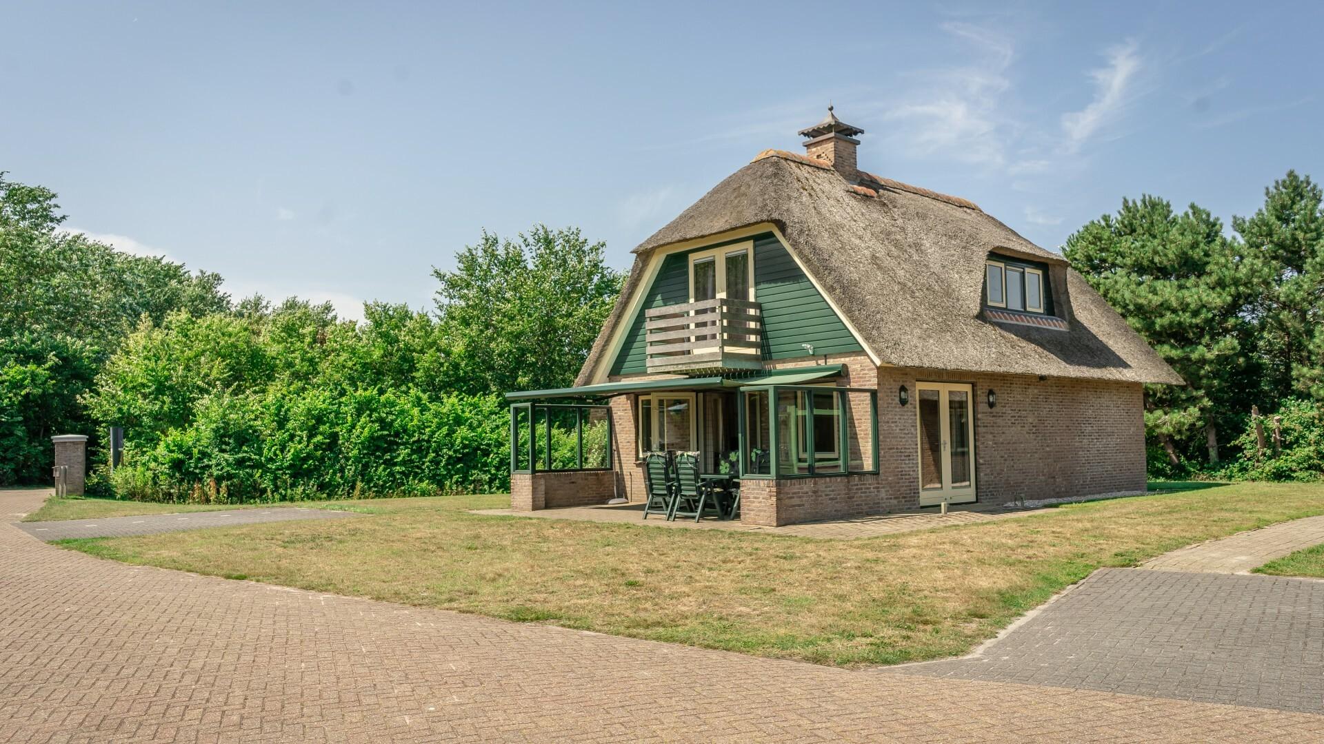 Villa zonder serre Villapark het buitenhof VVV Texel