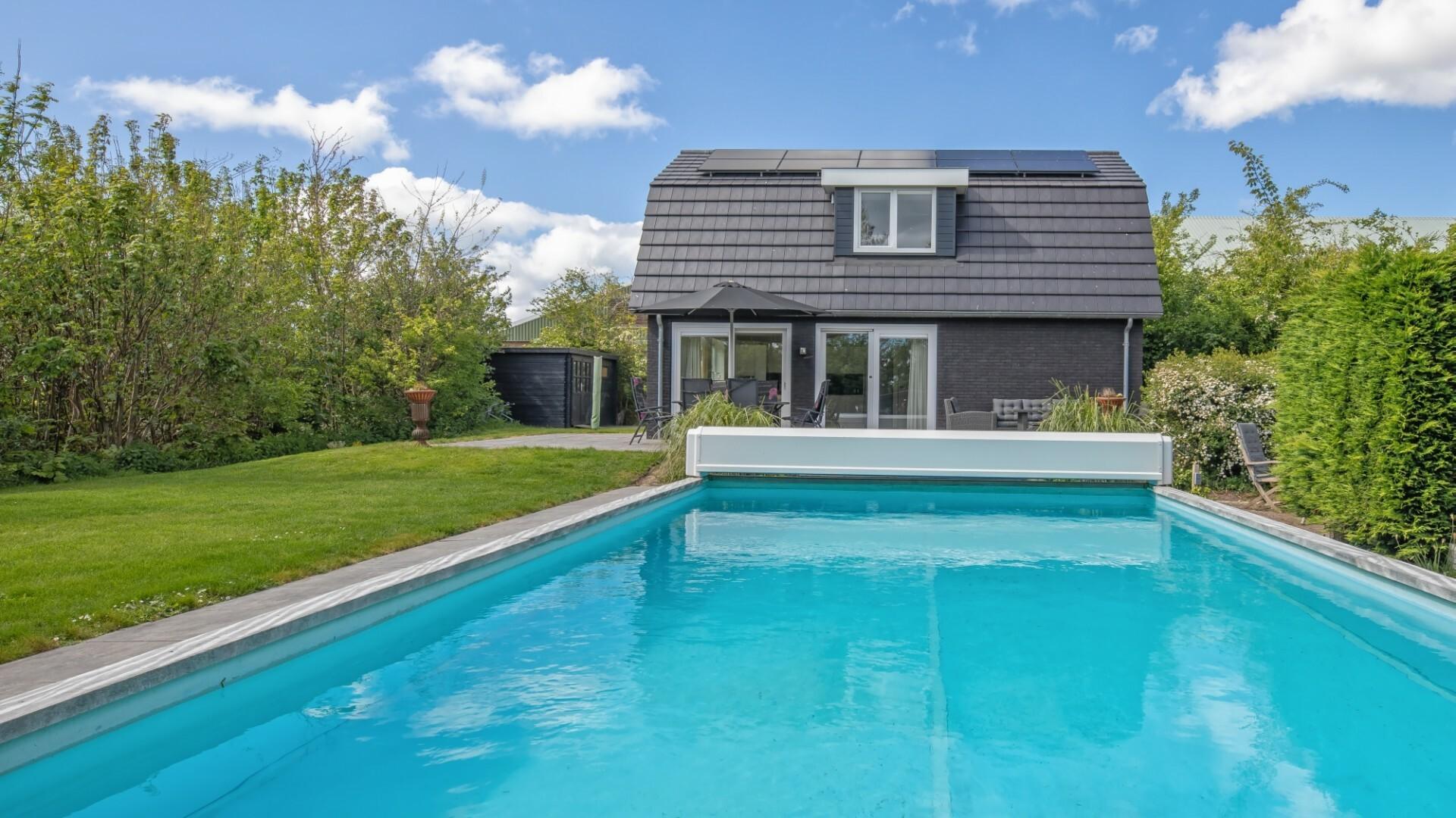 Vakantiehuis Meyertebos met eigen zwembad VVV Texel