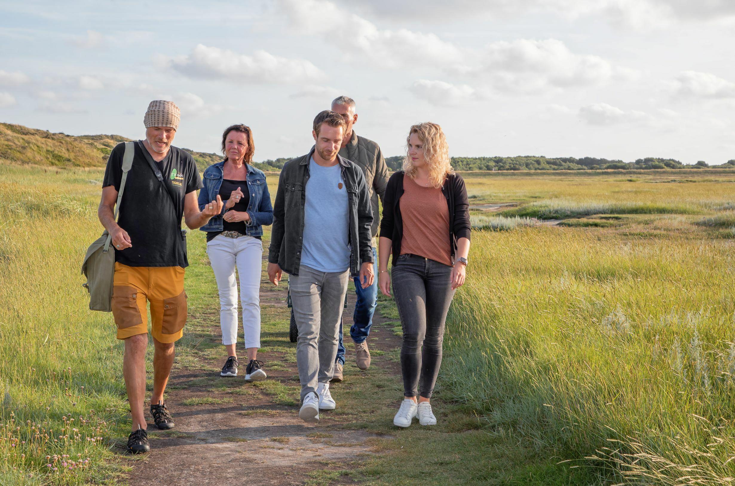 Natuurexcursie in De Slufter VVV Texel fotograaf Justin Sinner