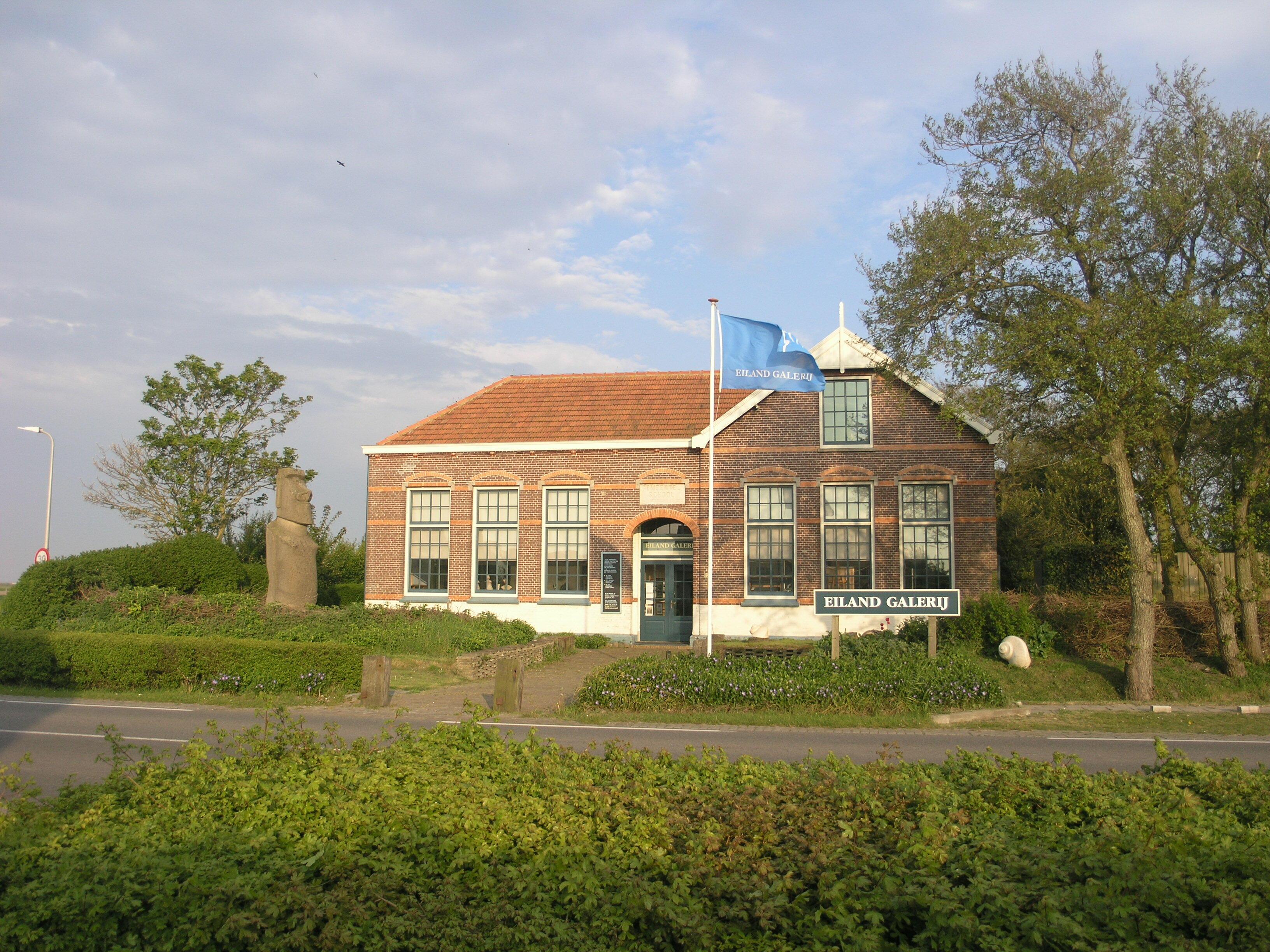 Eiland Galerij in Eierland VVV Texel