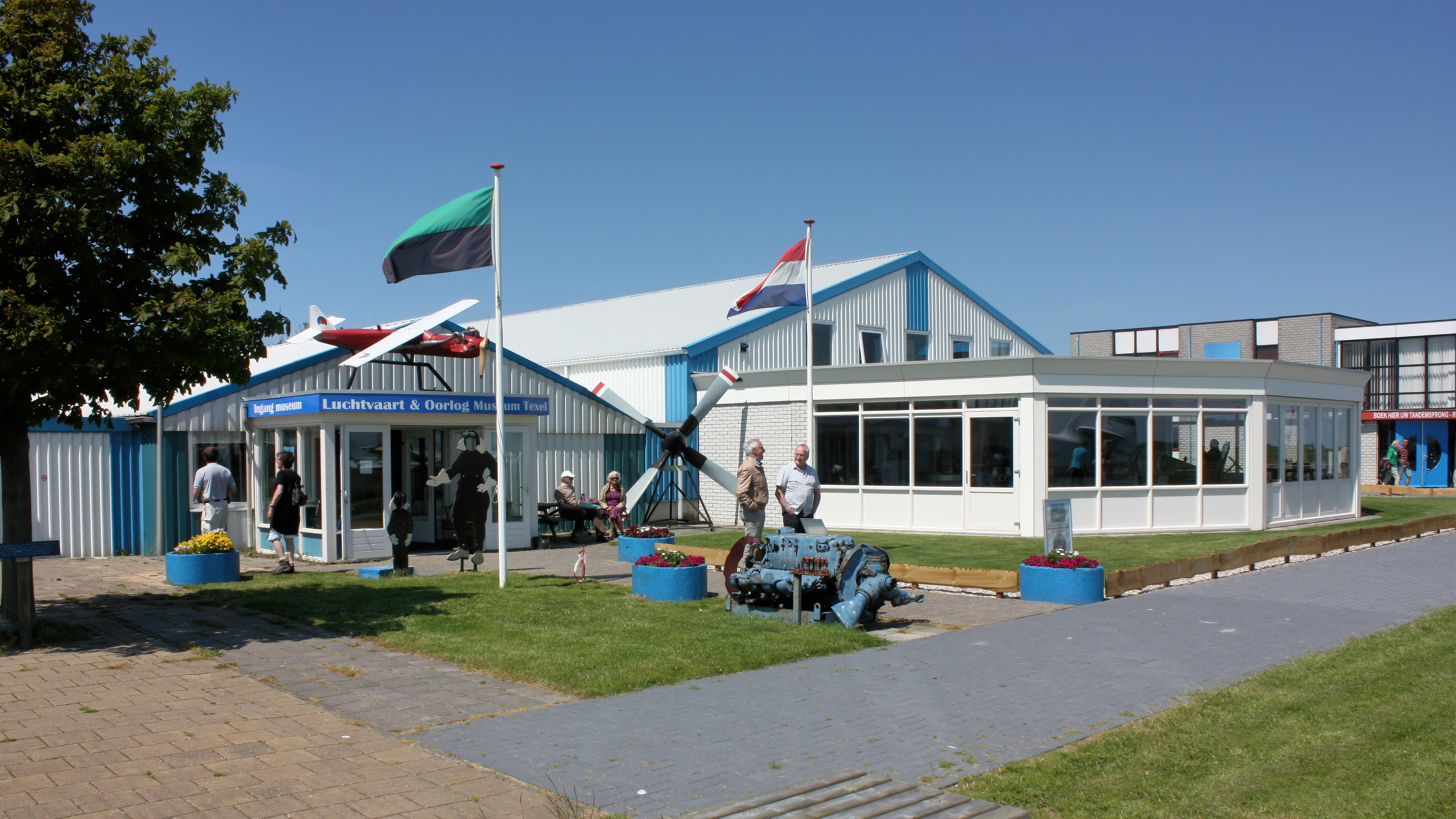 Entree Luchtvaart en Oorlogsmuseum op Texel VVV Texel
