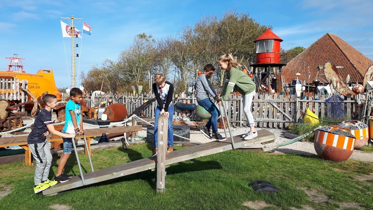 Speeltuin van Maritiem en Juttersmuseum Flora VVV Texel