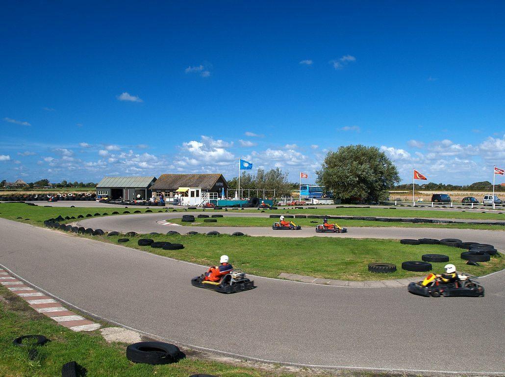 Karten op circuitpark texel VVV Texel