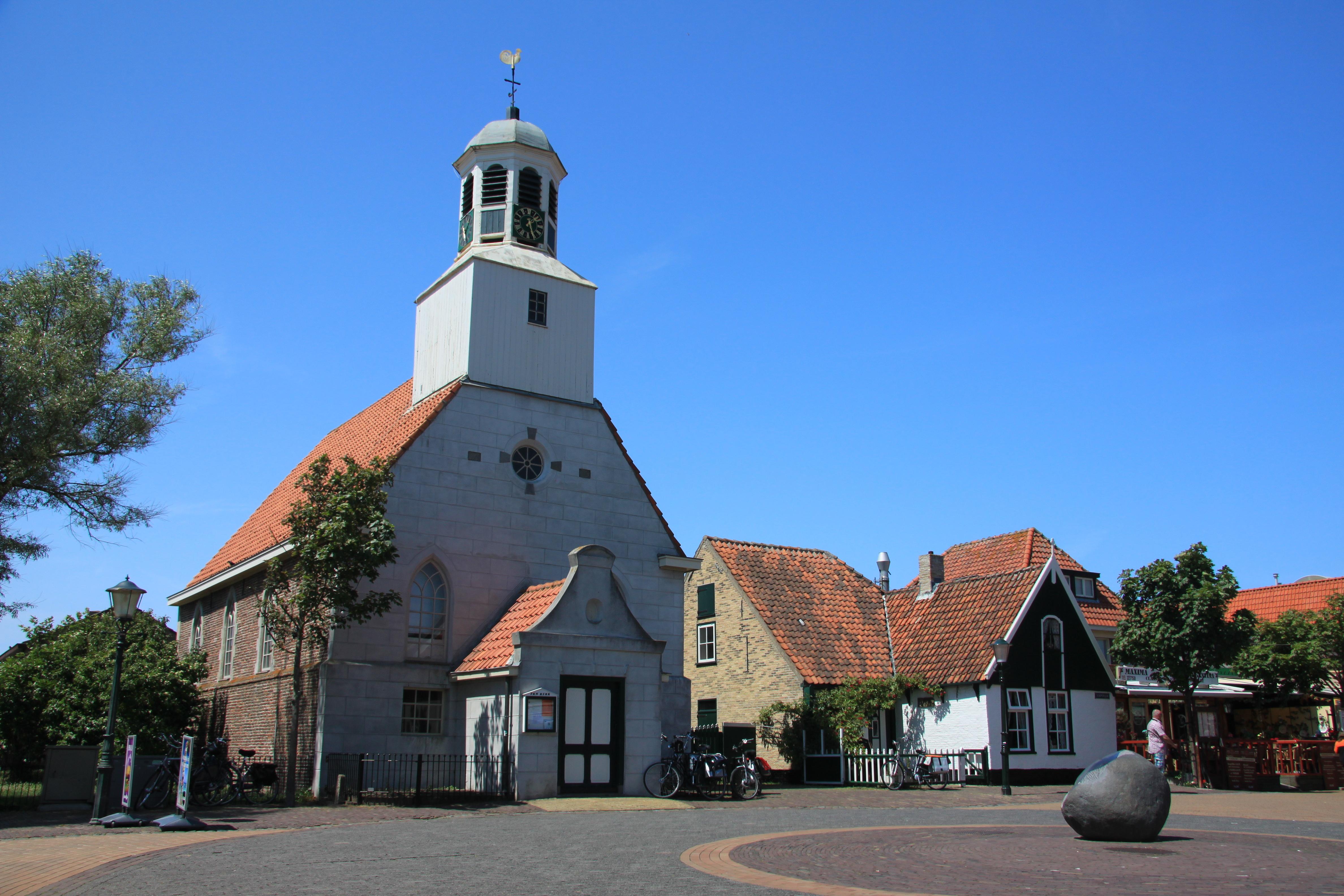 De koog kerk VVV Texel fotograaf vandriel