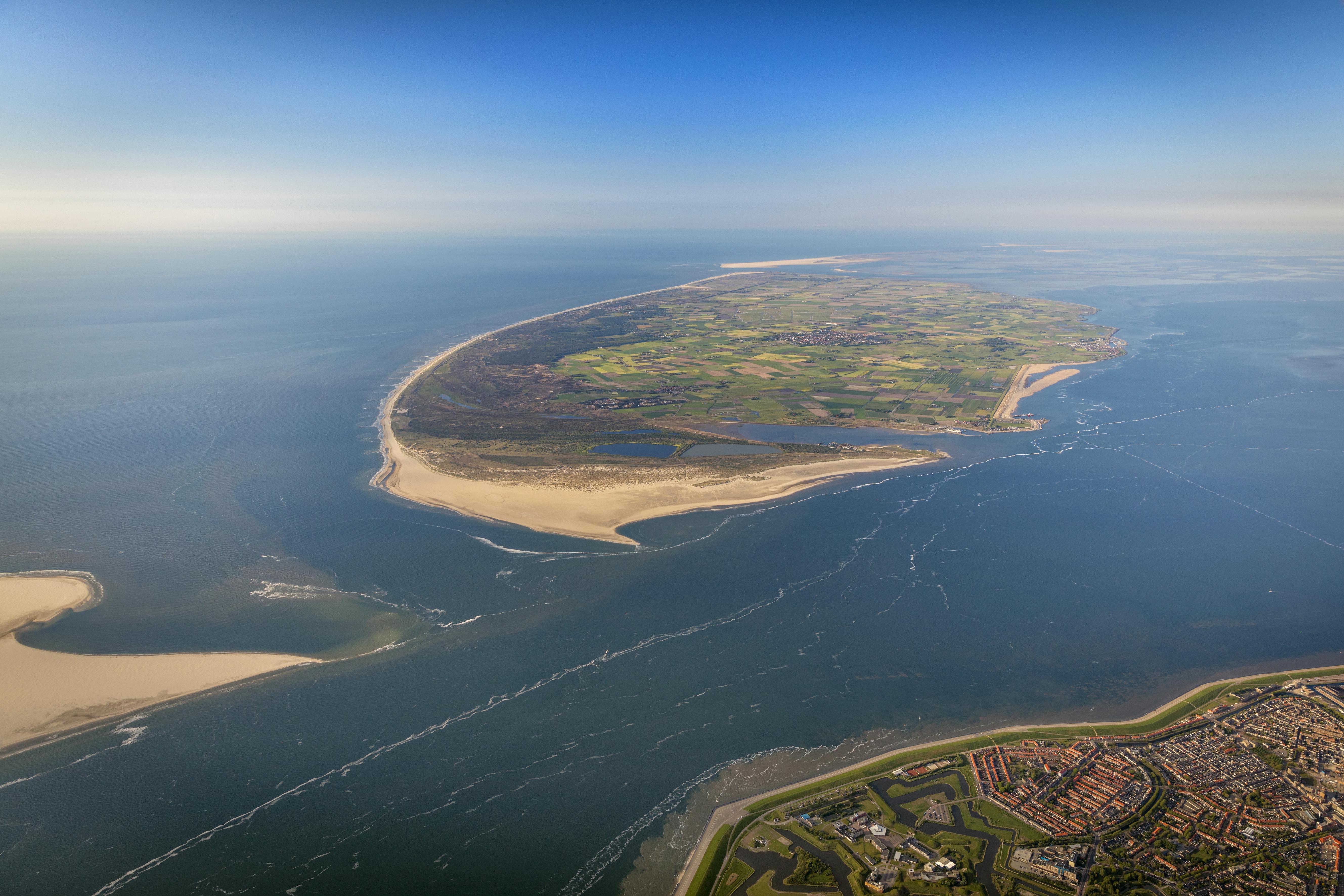 Texel vanuit de lucht VVV Texel Fotograaf Herman IJsselink van Flying Focus
