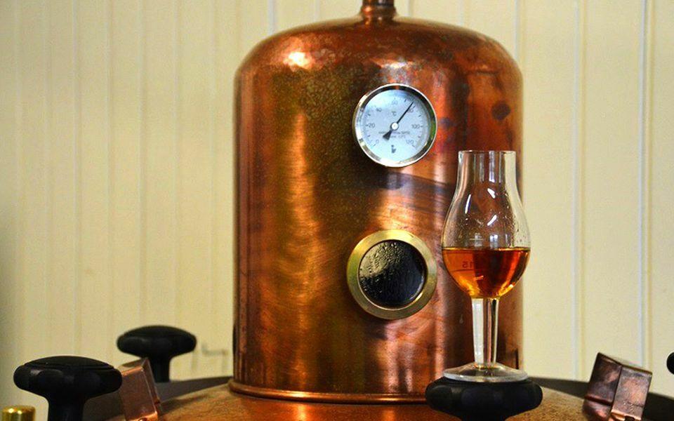 Whisky van disteleerderij De Lepelaar VVV Texel