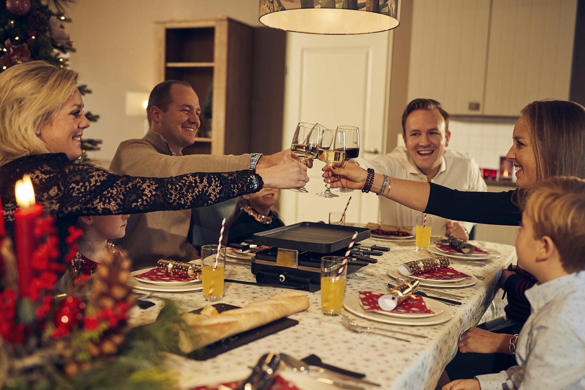 Proosten op het nieuwe jaar Vakantiepark De Krim VVV Texel