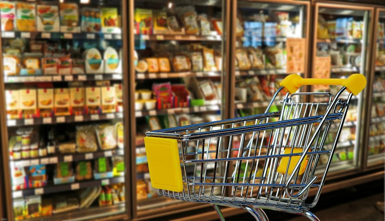 Supermarktwagen supermarkt openingstijden VVV Texel