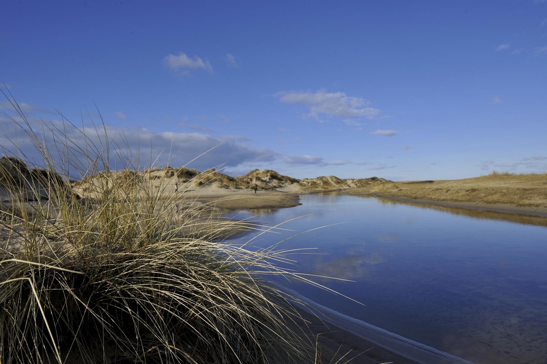 Doorkijkje natuurgebied De Slufter fotograaf Psotta VVV Texel
