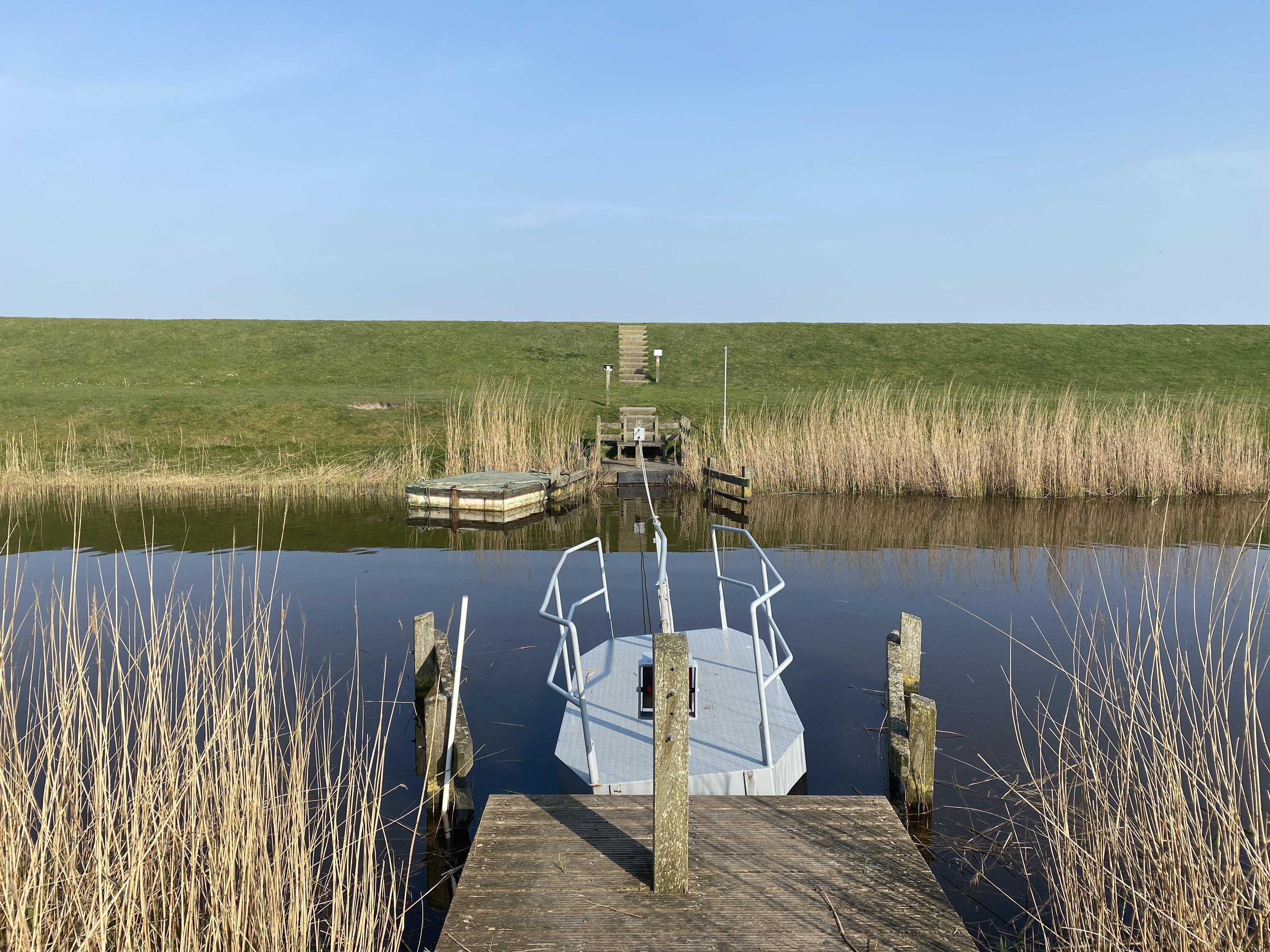 Trekpontje op Texel VVV Texel