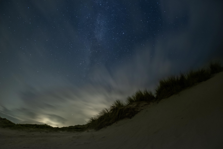 Sterrenhemel op het strand VVV Texel Andre van der Meulen