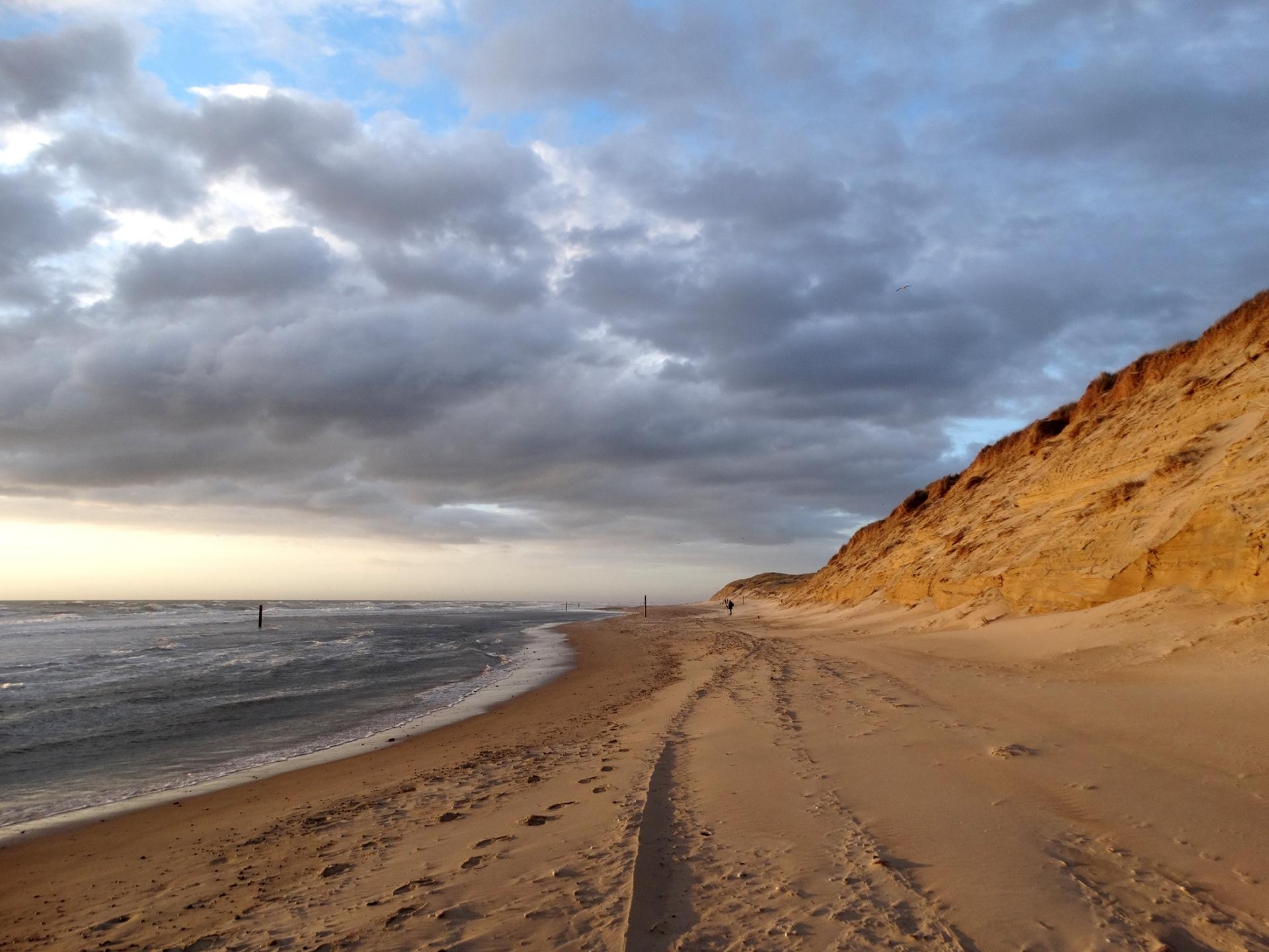 Storm op het strand VVV Texel fotograaf Justin Sinner
