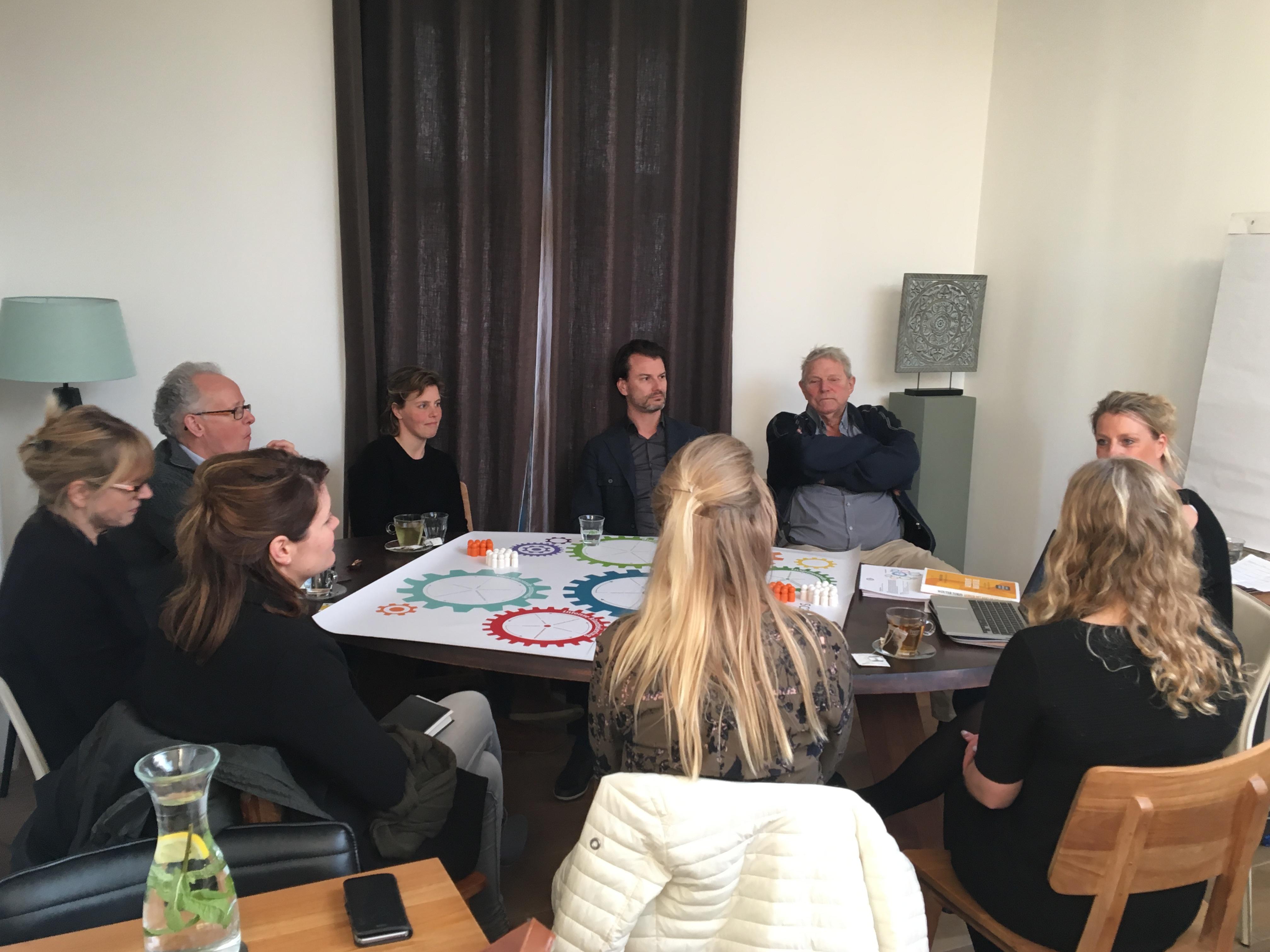Sessie tijdens Week van de ondernemer VVV Texel 2