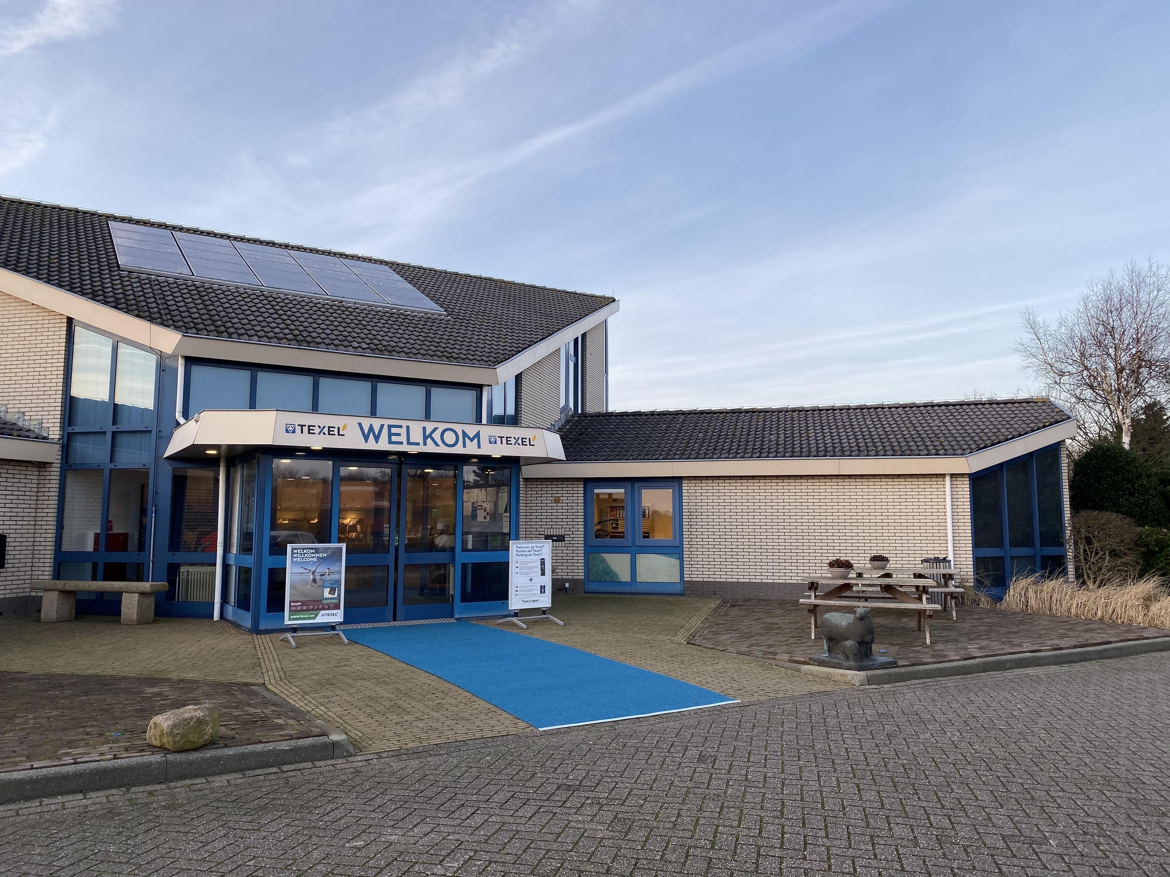 De locatie van VVV Texel in Den Burg