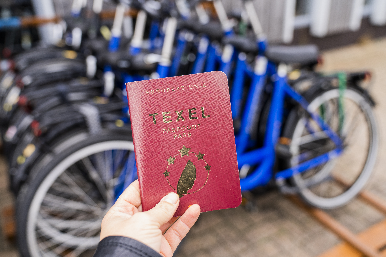 Fietshuur Texel Paspoort VVV Texel
