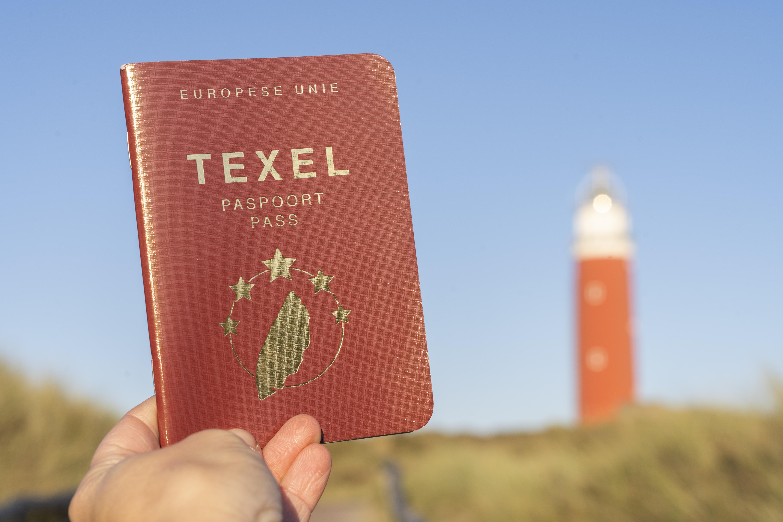 Texel Paspoort bij de vuurtoren VVV Texel