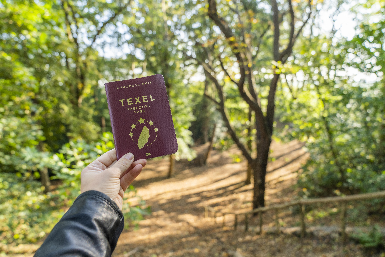 Texel Paspoort in het bos VVV Texel