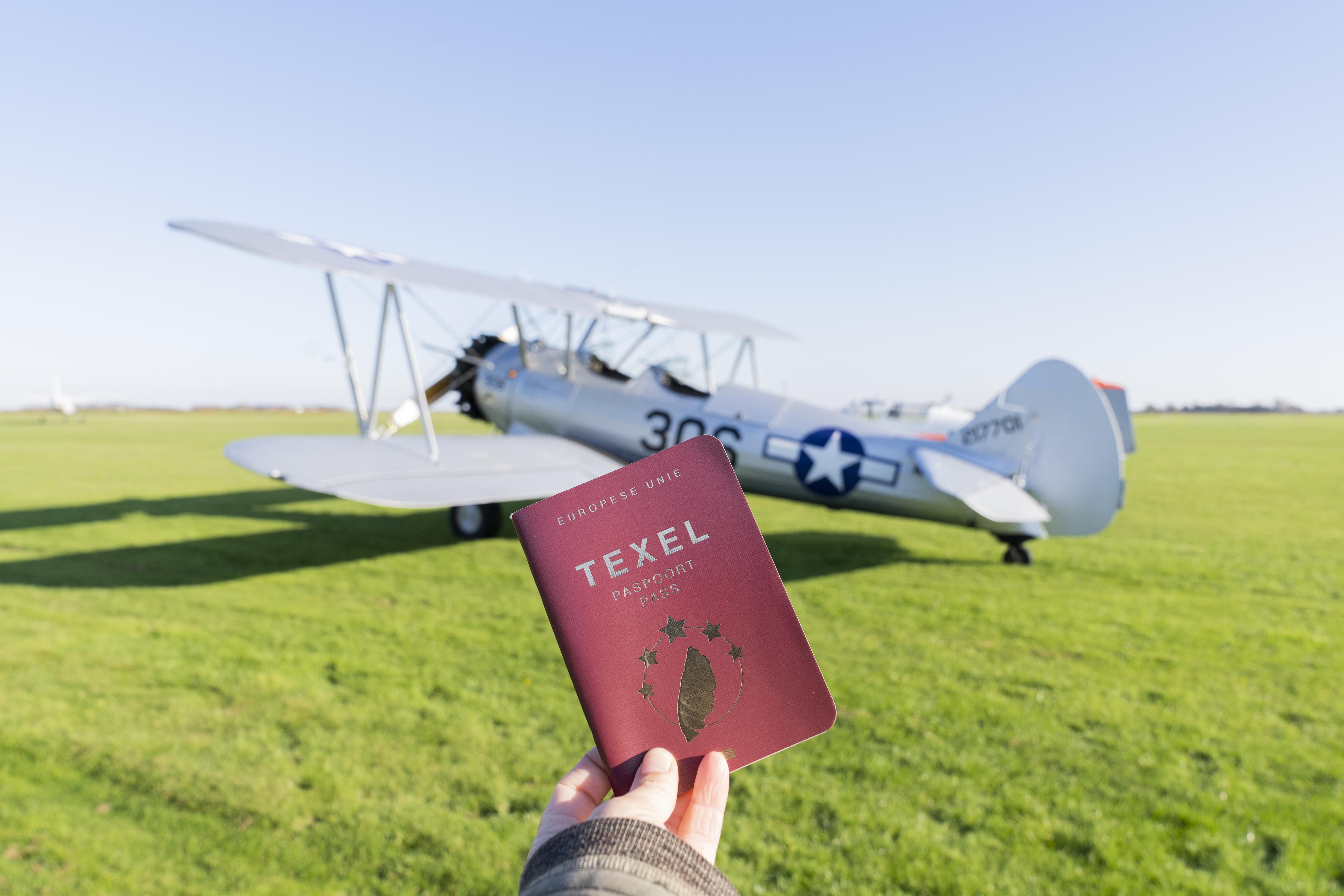 Liselotte Schoo VVV Texel Paspoort De Vlijt 9 alleen te gebruiken in combinatie Texel Paspoort