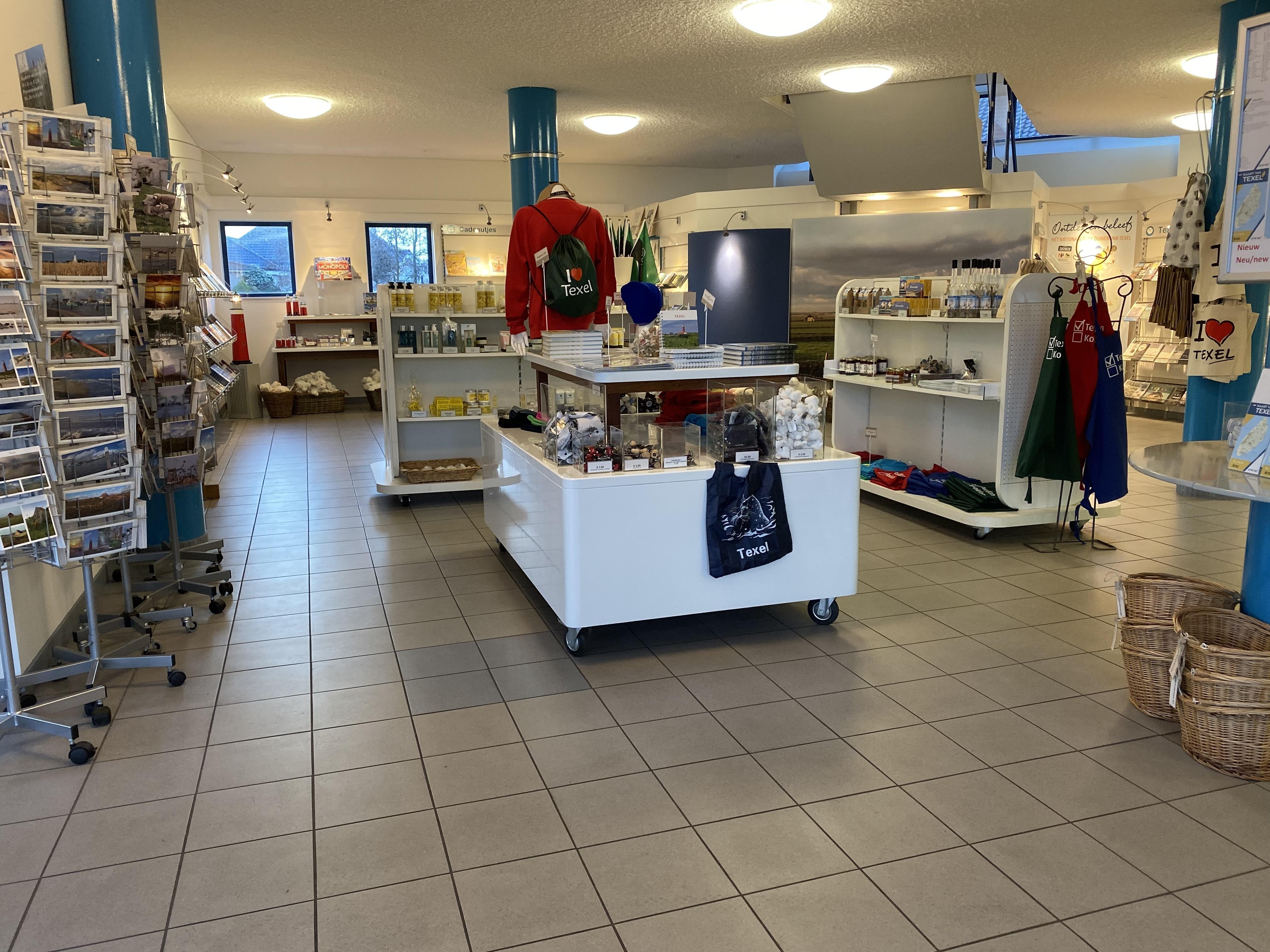 Winkel van VVV Texel in Den Burg VVV Texel