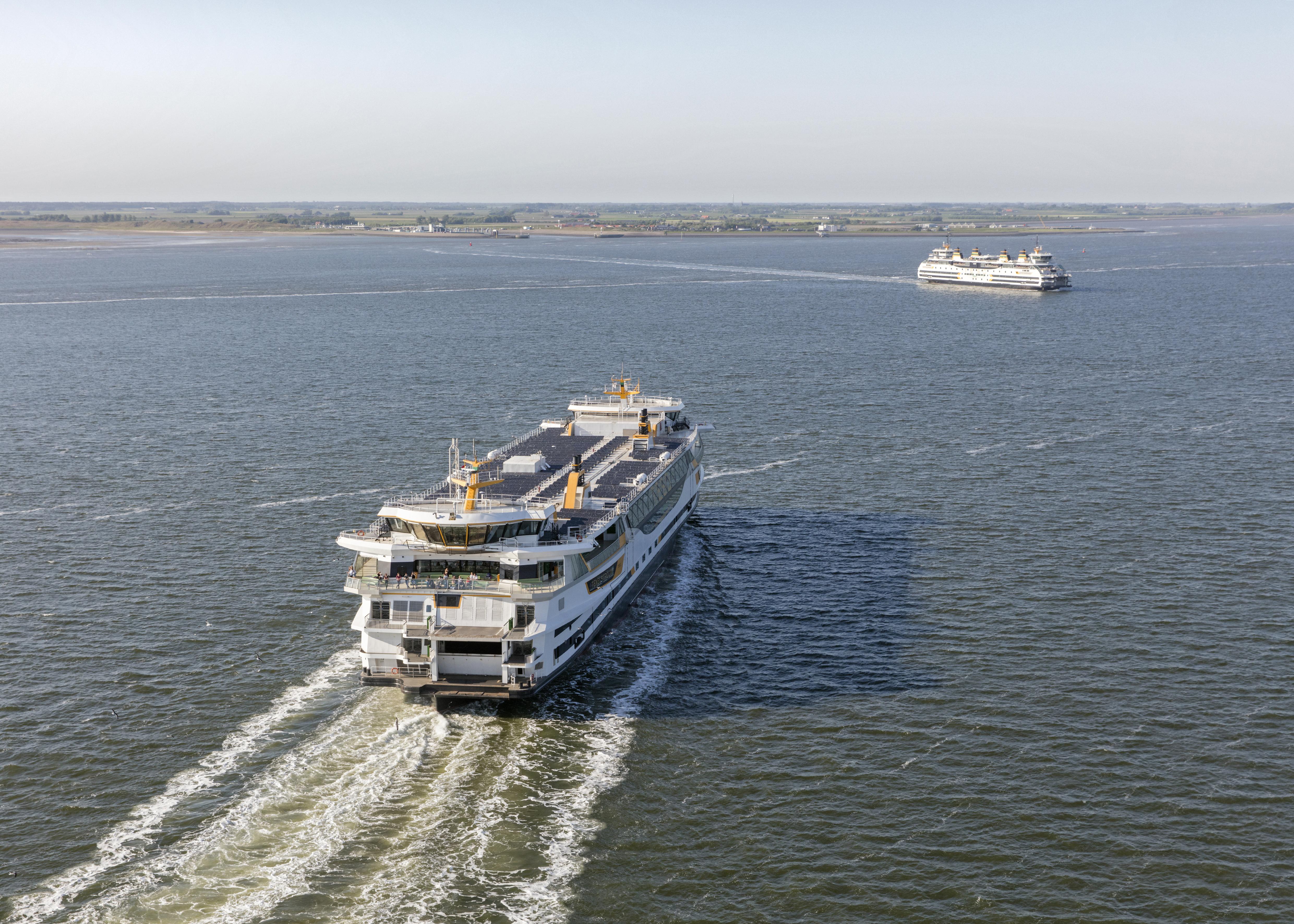 Veerboot onderweg naar Texel VVV Texel
