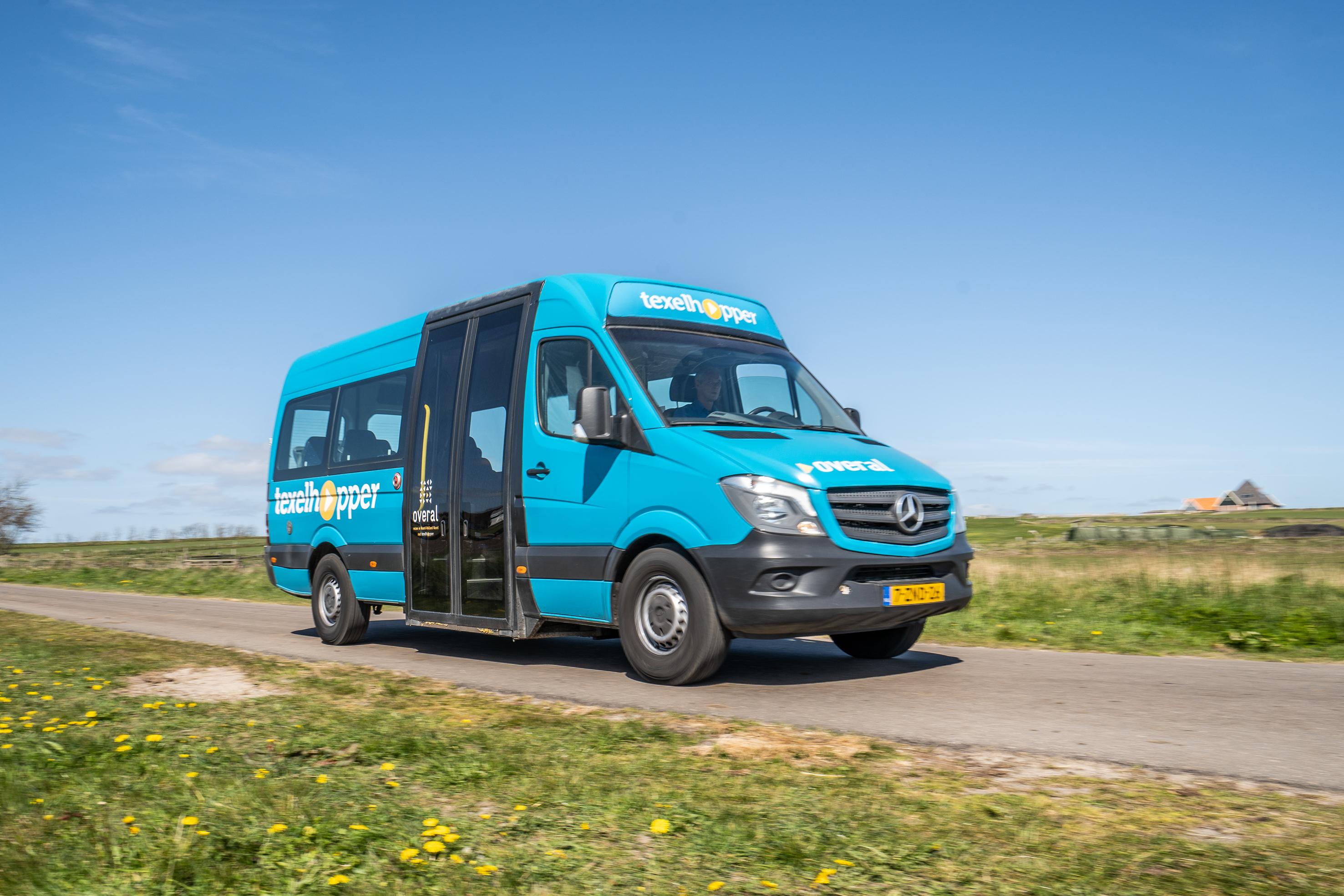 Texelhopper busje VVV Texel