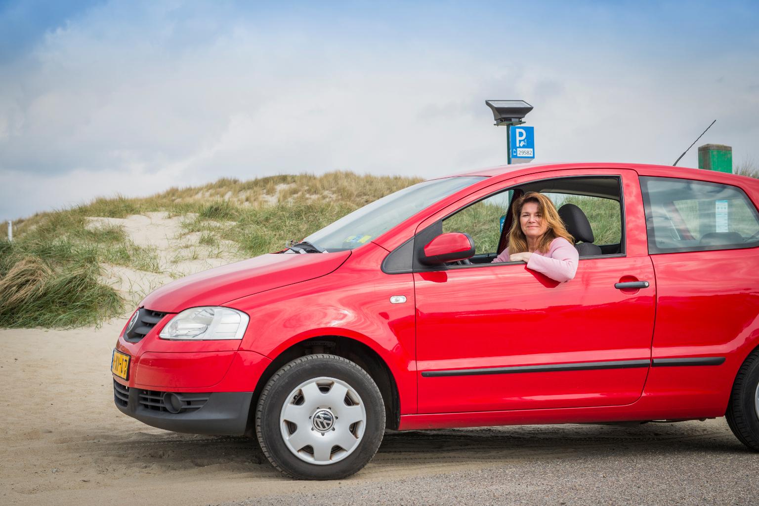 Parkeren met het Texel evignet VVV Texel