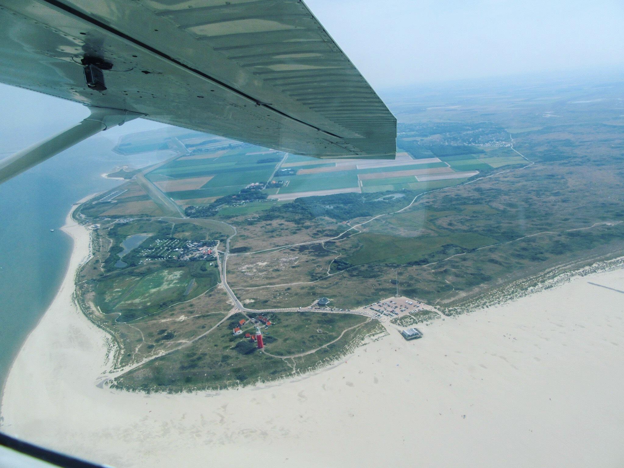 Rondvlucht boven texel VVV Texel fotograaf Rosanne den Boer