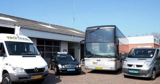 Taxi auto huren op Texel TBO VVV Texel