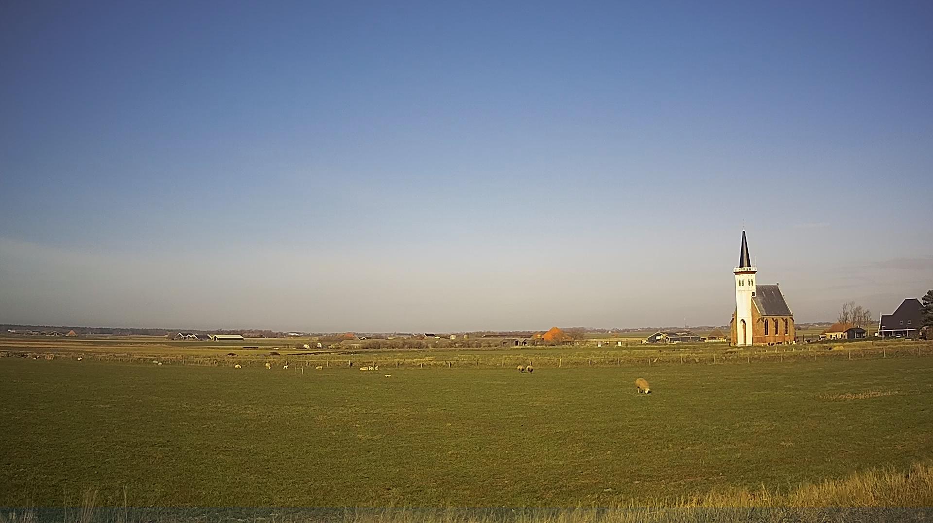Livebeeld de kerk van Den Hoorn VVV Texel