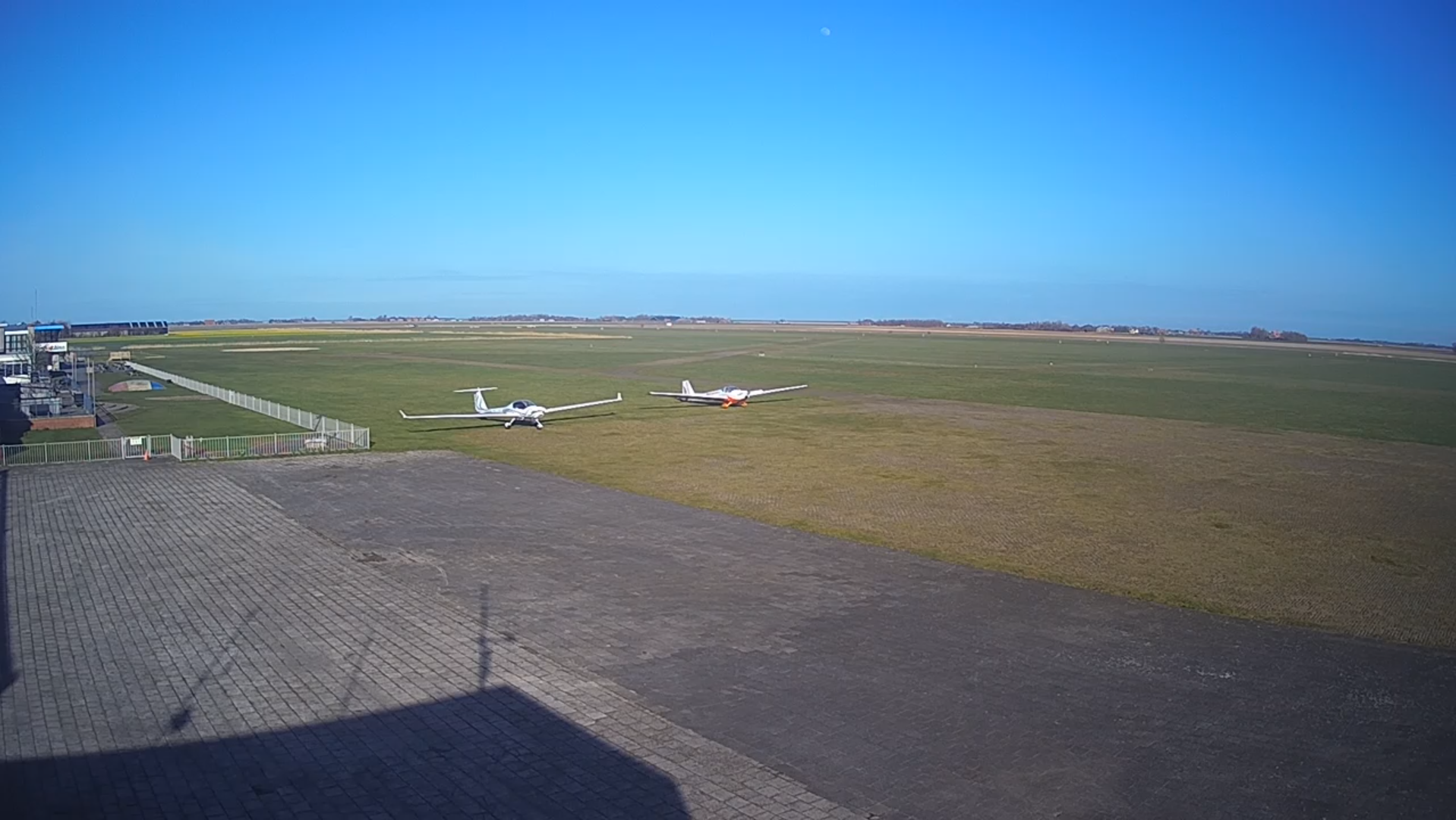 Livebeelden van het vliegveld op Texel VVV Texel