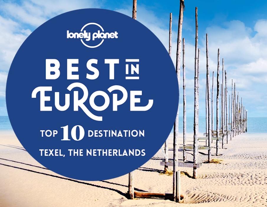 Beste bestemming in Europa Lonely planet VVV Texel